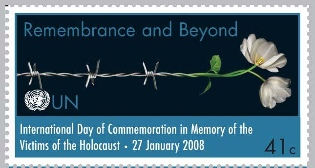 holocaust stamp